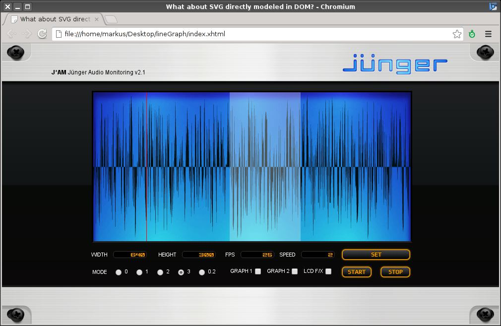 02 Audio Monitoring im Webbrowser (Studie 2013)
