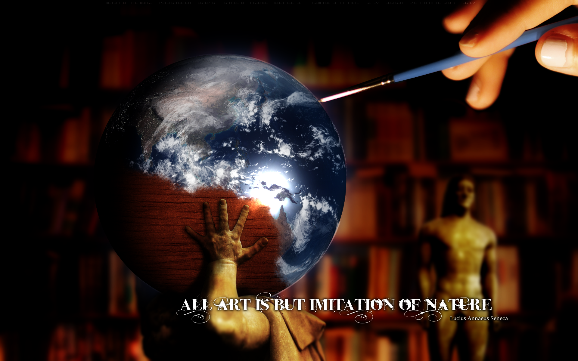 all art is but imitation of